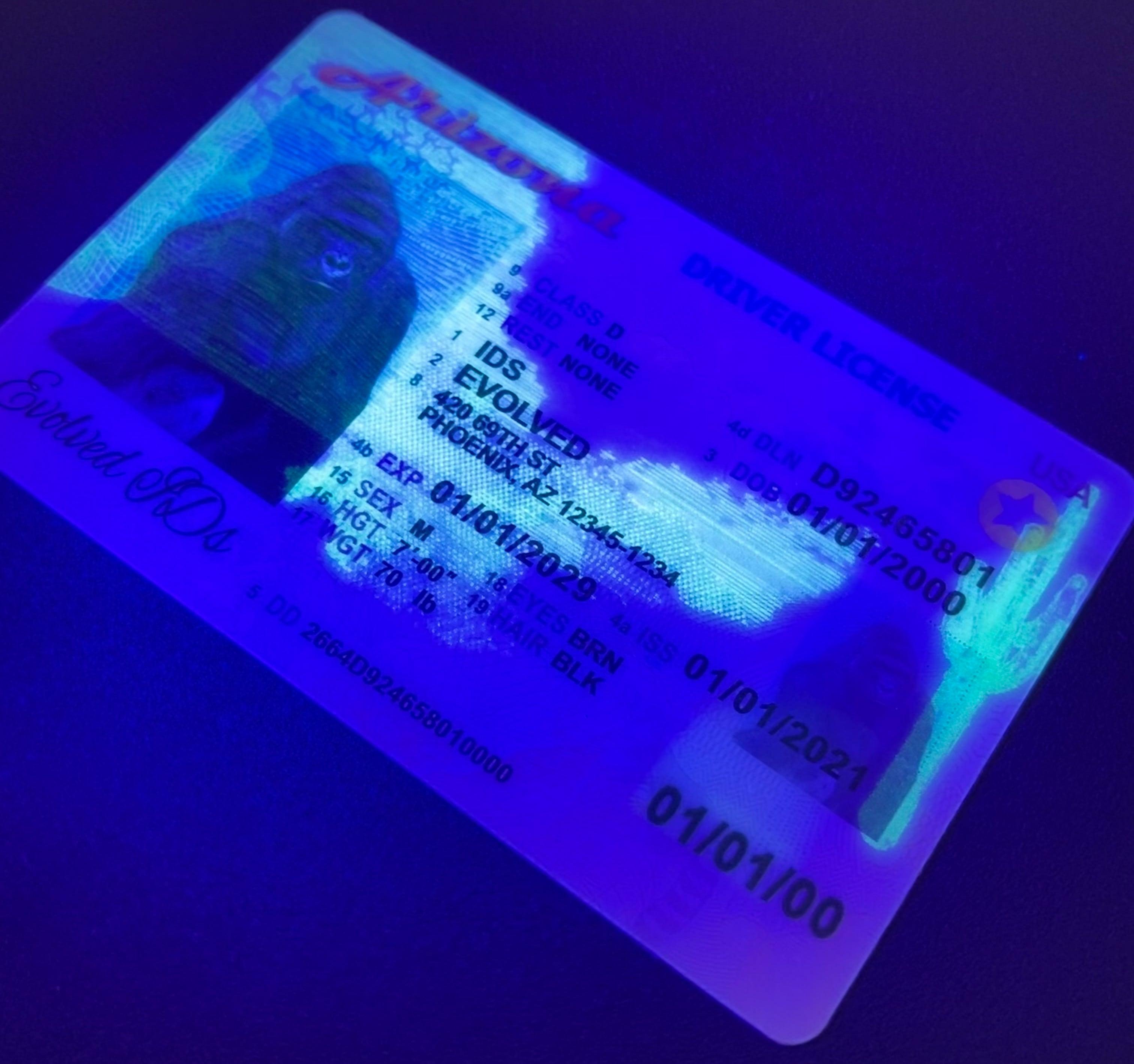 Arizona Fake ID UV